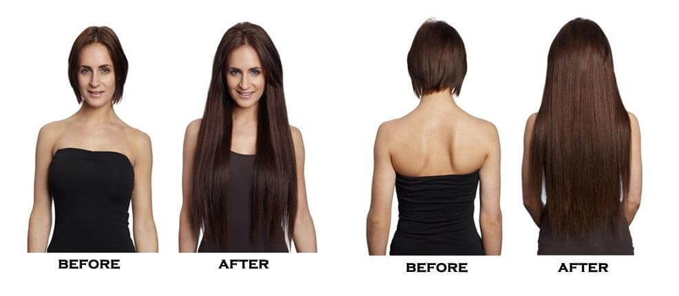 Range of clipin hair extensions 16 inch 18 inch 20 inch and 22 so if you want sleek long blonde hair like claudia schiffer or beautiful volumised waves like kim kardashian or just to add extra length and volume to pmusecretfo Image collections