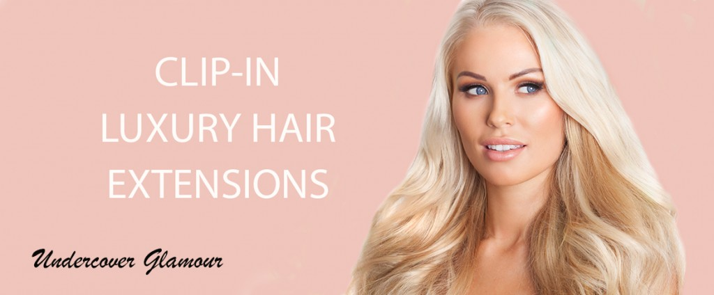 undercover glamour clip in hair extensions