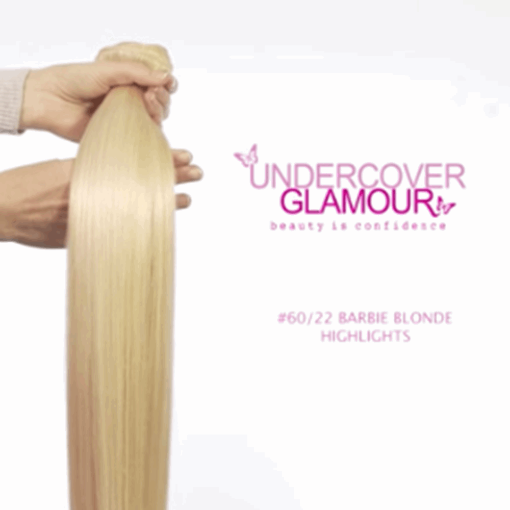 Human hair extensions real hair clip in hair extensions