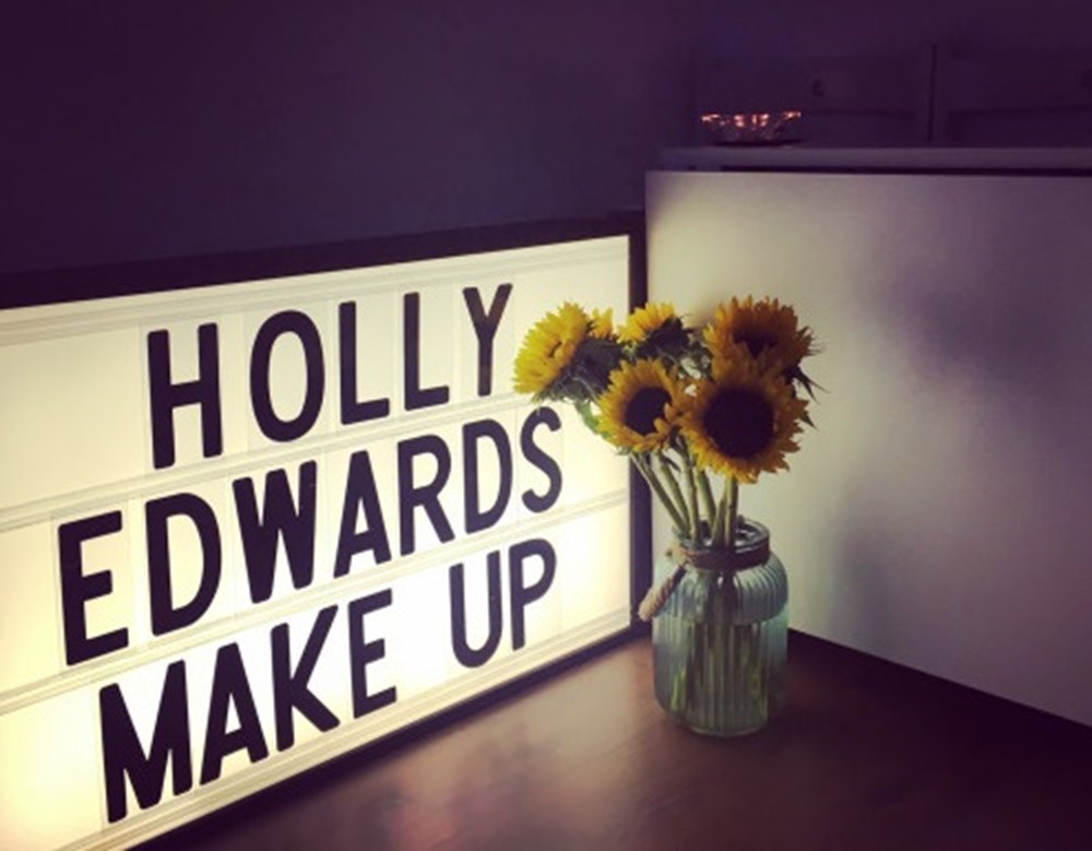 Holly Edwards Make Up Sunflowers