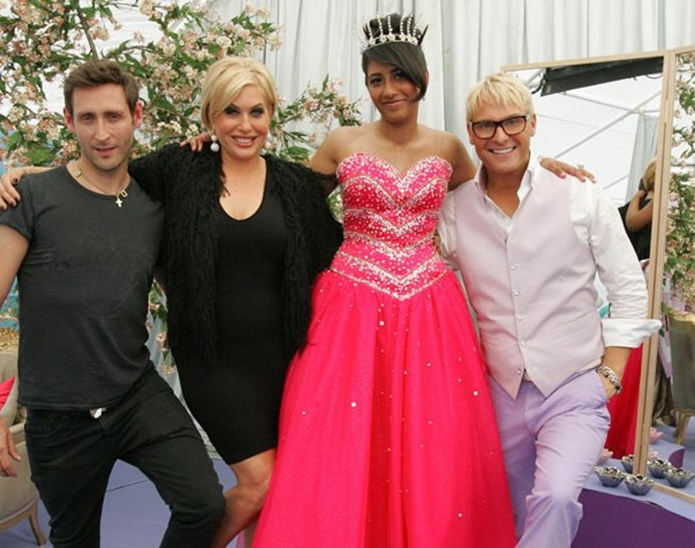 Brix Smith-Start, Steven Glendenning Gary Cockerill promzillas prom dress hair extensions