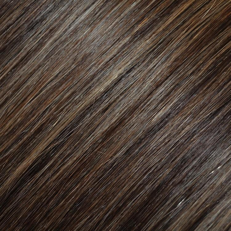 Dark Brown Blonde Highlights 184 Clipin Hair Extensions