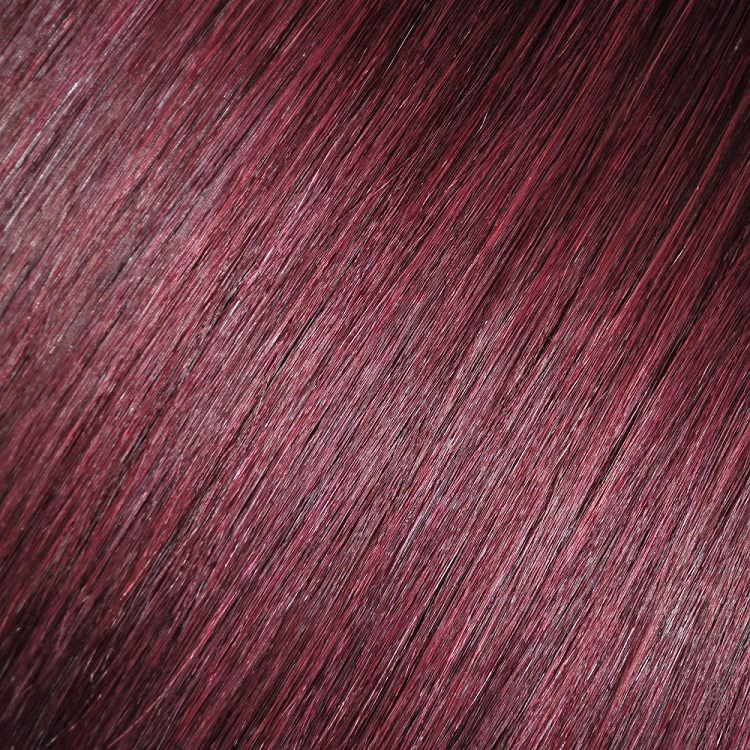 Mahogany Dark Cherry Red 99j Hair Extensions