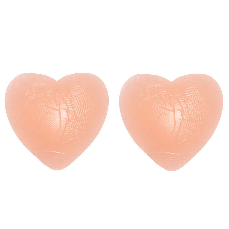 heart shaped silicone nipple covers