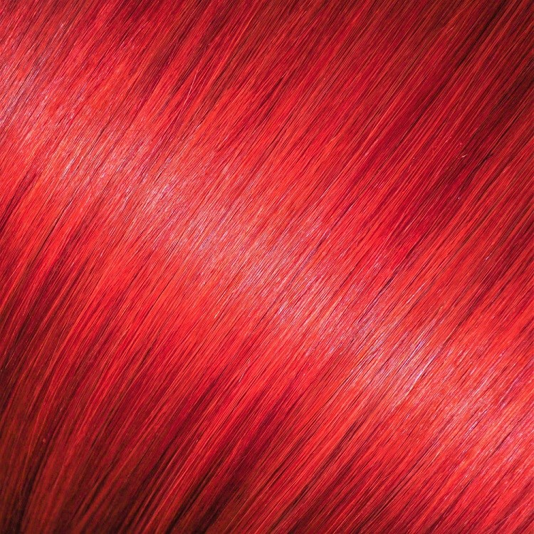 bright red hair extensions