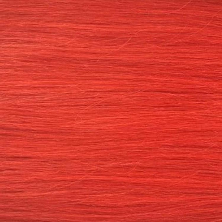 Bright Red Hair Piece Clip In Hair Extensions