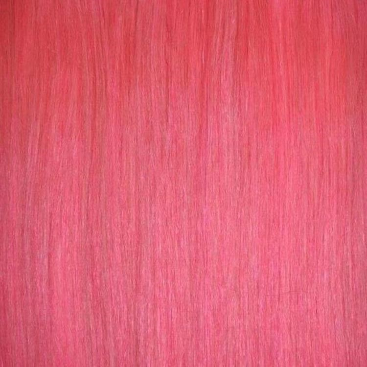 Pink Hair Piece Human Hair Extensions 18 Inch