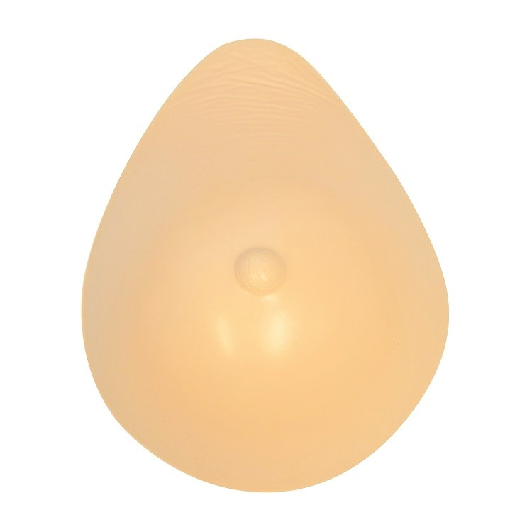 Tear drop breast form