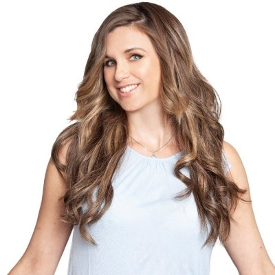 #4/18 Balayage Bronde - Clip in Hair Extensions - Full Head - DELUXE