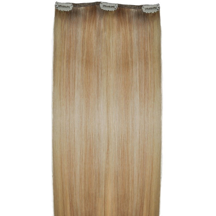 Natural Blonde human hair extensions