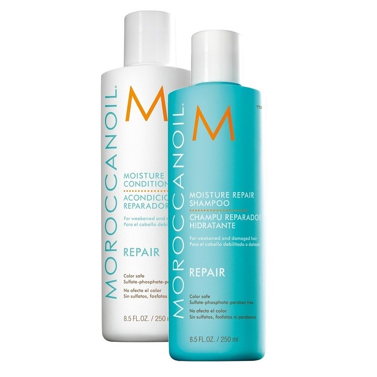 Moisture repair moroccan oil duo