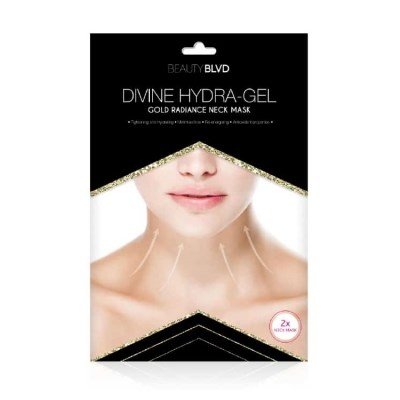 Divine Hydra-Gel Gold Radiance Neck Mask - Beauty Blvd